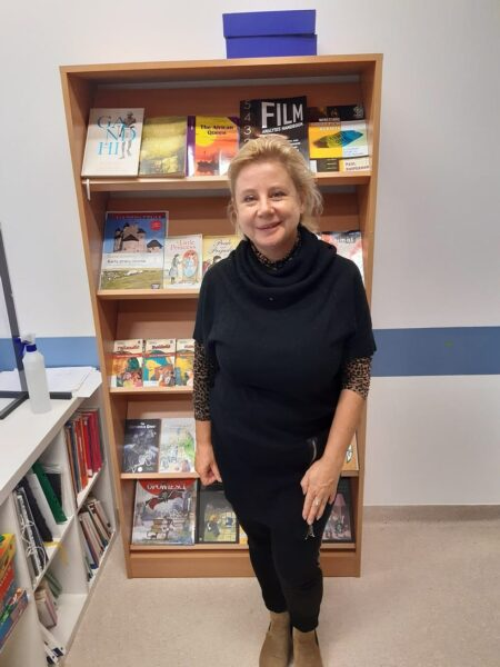 This month we welcomed our new librarian, Ms. Alicja Dmowska.